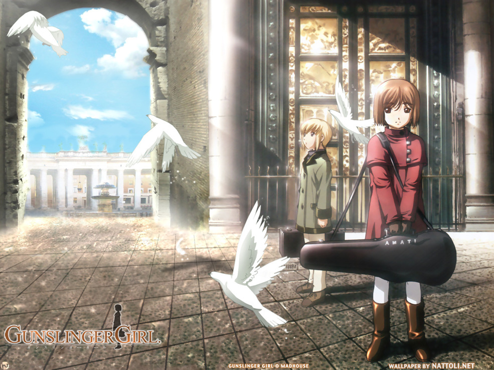 Gunslinger Girl: At the Plaza  Wallpaper