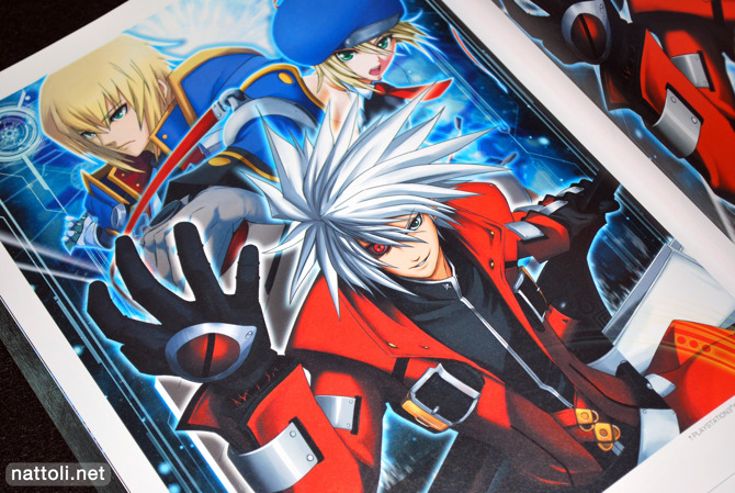 Ragna with Demon Eyes