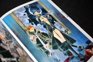 Kiyo Kyujyo Illustrations Trinity Blood Rubor - 17